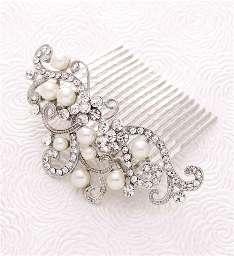 Wedding Hair Combs For Veils by Bridal Veil Comb Wedding Veil Headpiece Bridal