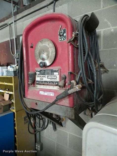 lincoln welder 250 lincoln idealarc 250 welder for sale wichita ks