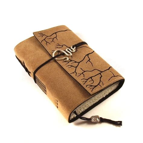 roots leather journal book handmade