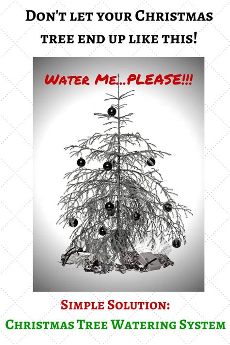 best 20 christmas tree watering system ideas on pinterest