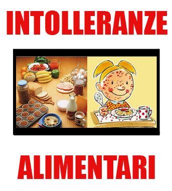 intolleranza alimentare intolleranze alimentari 171 allergie non allergiche