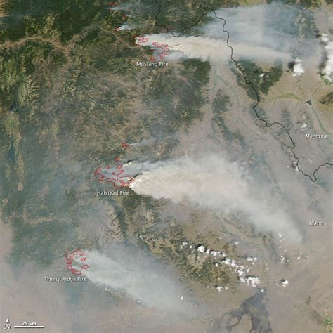 Wildfires - August 2012 | State of the Climate | National ...