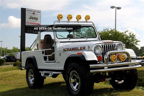 jeep scrambler 4 door 1981 jeep scrambler base sport utility 2 door 4 2l