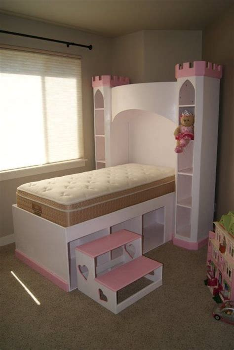 Princess Castle Headboard by Castle Bed Princess Castle Bookshelf Headboard Optional Sized Bed W Storage