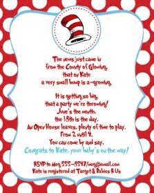 Dr Seuss Baby Shower Invitation Wording by Printable Customized Dr Seuss Baby Shower Invitations