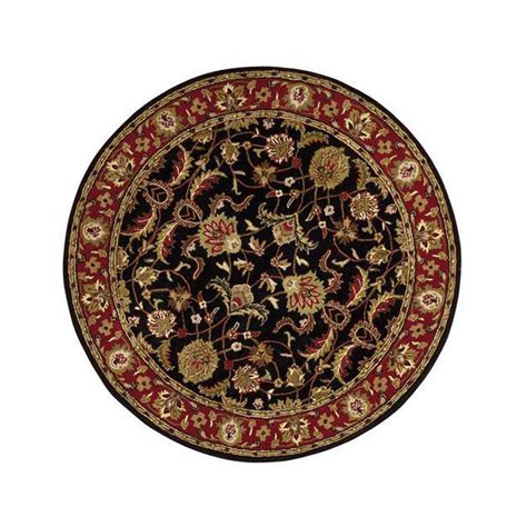 Home Decorators Collection Constantine Black 5 Ft 9 In 5 Foot Area Rugs