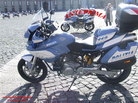 squadra volanti presentata la nuova moto per la squadra volanti