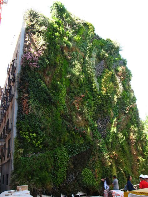 caixa forum madrid vertical garden blanc