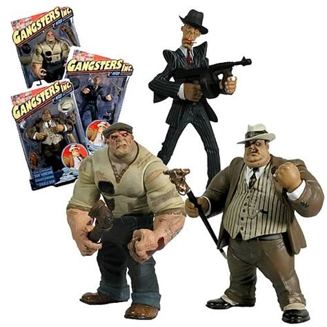 the figure archive gangsters inc series 1 mezco toyz gangsters