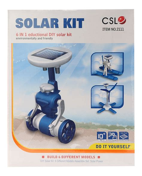 6 In 1 New Solar Educational Diy buy 6 in 1 solar kit educational diy orange in india kheliya toys