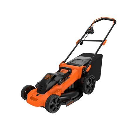 black decker mower black decker 20 in 13 corded electric walk
