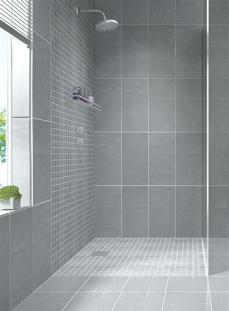 create a modern looking bathroom by mixing different