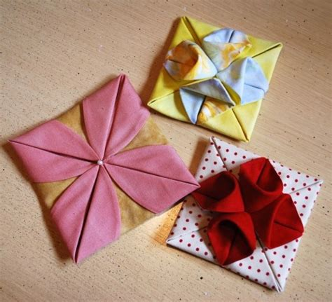 Origami Fabric Tree - 25 best ideas about fabric origami on fabric