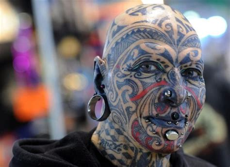 extreme tattoo canada fuck yeah head tattoos and the skulls that have them