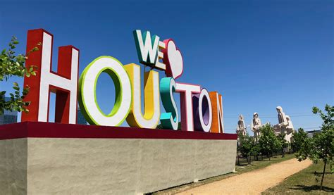 we love houston sign we love houston sign at 8th wonder brewery 365 houston