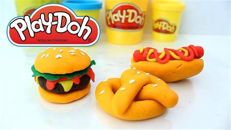 how to make fast food with play doh for your american