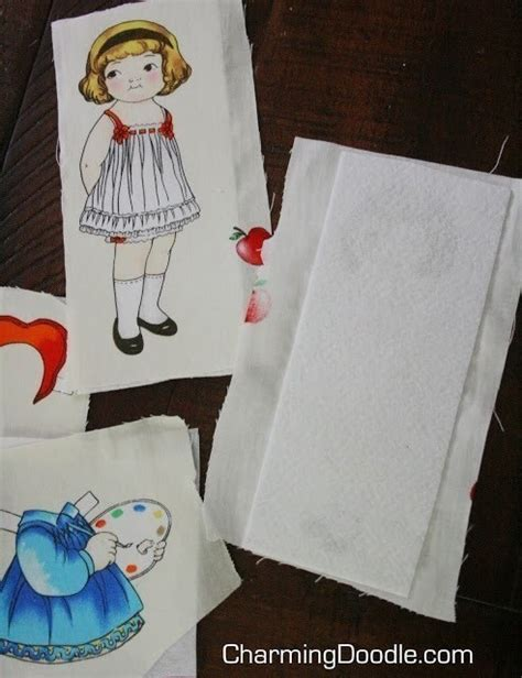 How To Make Fabric Paper Dolls - make fabric paper dolls 183 how to make a doll accessory