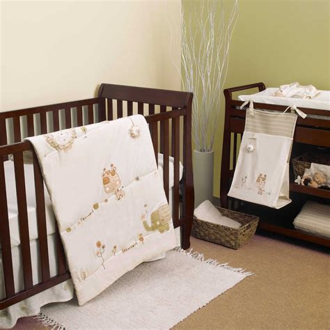 Natures Purest Sleepy Safari Crib Bedding And Accessories Safari Bedding