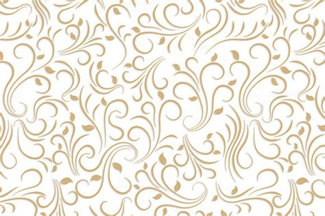 floral pattern in gold old gold pattern 187 designtube creative design content