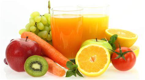 pilihan buah  sayur  dijadikan jus