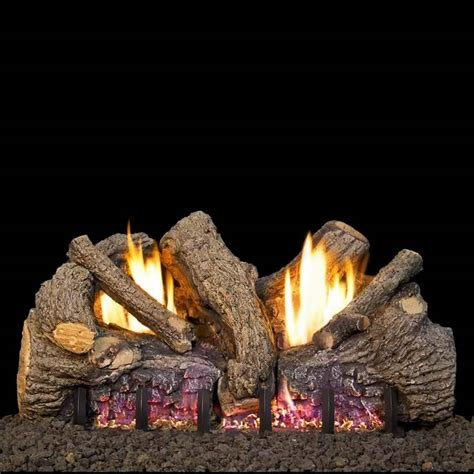 rh peterson 24 inch foothill oak gas logs s gas