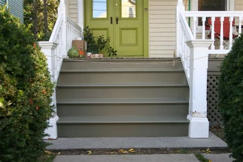 dazzling front steps design ideas including grey color