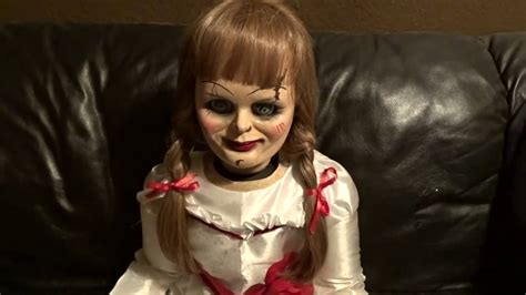 annabelle doll haunted the haunted annabelle doll