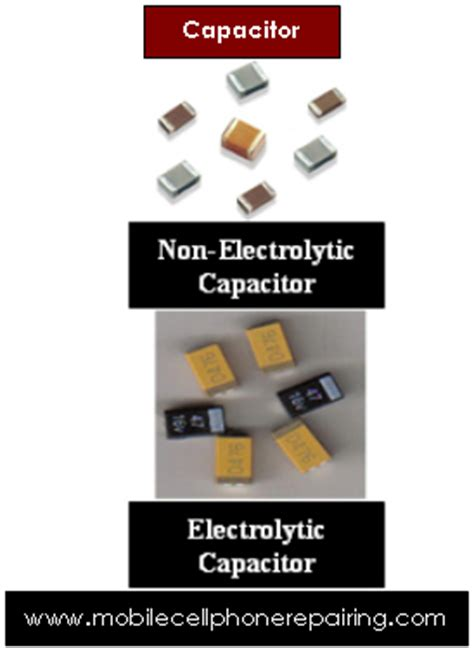 diy cell phone capacitor capacitor mobile cell phone repairing mobile phone repair guide help tips pictures