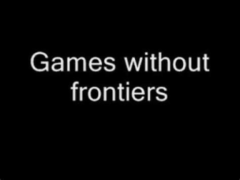 without frontiers lyrics gabriel without frontiers lyrics