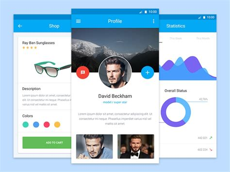 material design free ui kit fall in love with material design 10 resources