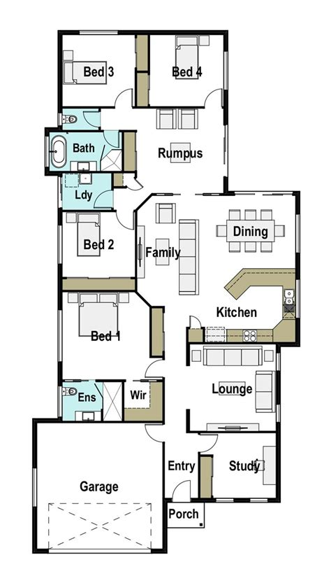 House Plans Mackay by Mackay 230 Design Detail And Floor Plan Integrity New Homes