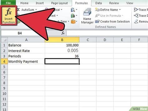 monatliche zinsen berechnen kreditkarte monatliche zahlungen in excel berechnen wikihow