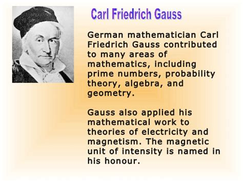 Pictures Of Great Mathematicians And Their Contributions