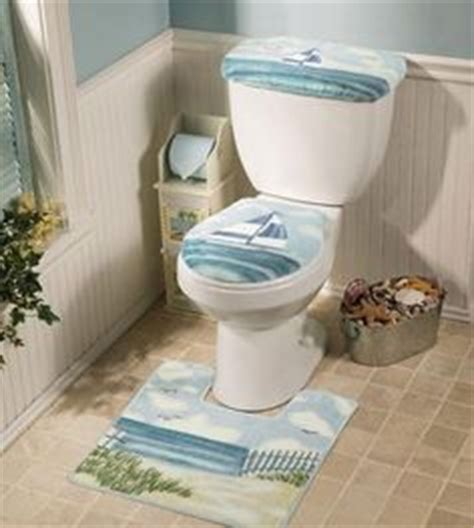 nautical toilet seat cover 1000 images about toilet cover sets on
