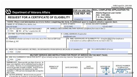 Va Mortgage Letter Of Eligibility va home loan certificate of eligibility phone number