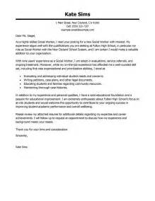 Professional Social Worker Cover Letter by Social Worker Cover Letter Exles Social Services Cover Letter Sles Livecareer