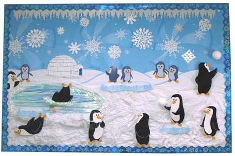 educational themes for january winter bulletin boards