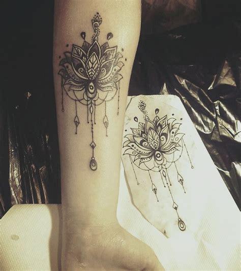 mandala tattoo lotus meaning the 25 best mandala tattoo neck ideas on pinterest