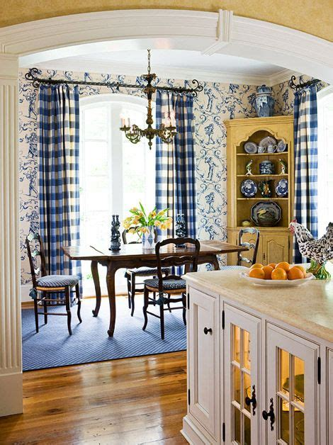 french country kitchen absolutely love  blue
