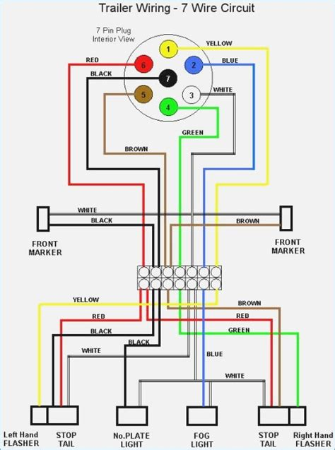 7 pin trailer wiring diagram electric brakes artechulate