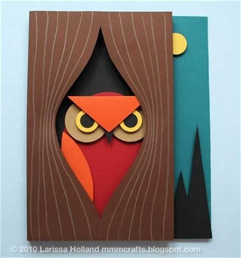 Papercraft Owl - craft tutorials galore at crafter holic 3d paper owl
