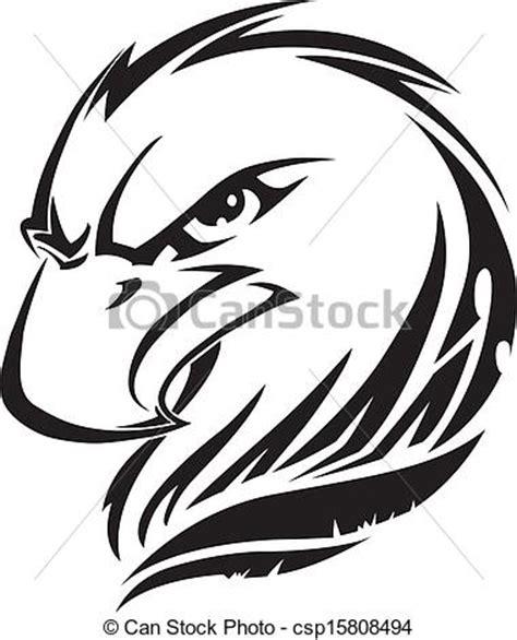 eagle tattoo line art eps vectors of eagle head tattoo vintage engraving