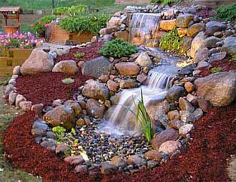 Backyard Water Features Ideas 25 Diy Water Features Will Bring Tranquility Relaxation To Any Home Architecture Design