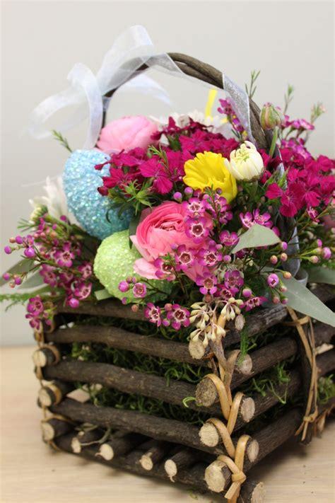 easter flower arrangement flower arrangements pinterest