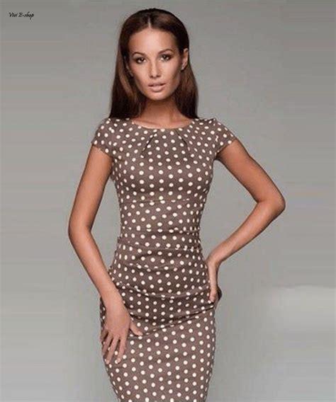 Dot Sleeve Dress office dresses summer cap sleeve satin polka dot
