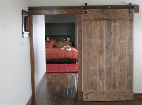 Doors Become Spectacular With Barn Door Hardware Homejelly Barn Door Flat Track