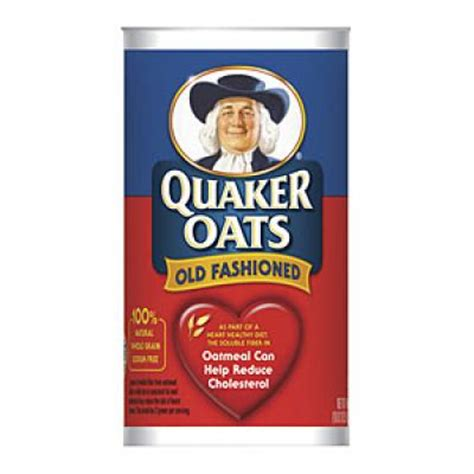 quaker oats old fashioned rolled oats lower sodium
