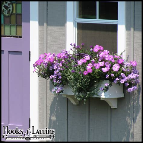 self watering window box self watering window boxes flower boxes hooks lattice