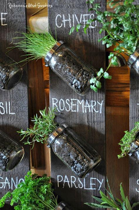 s bird gardens diy jar vertical herb
