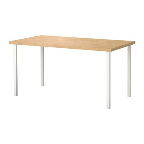 white ikea table linnmon godvin table birch effect white ikea